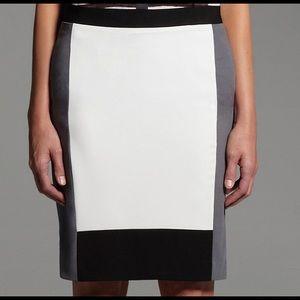 Narciso Rodriguez 10 Crepe Pencil Skirt formal zip